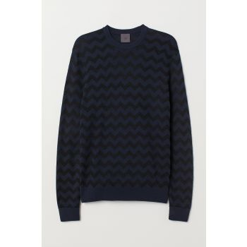 Jacquard Sweater Pullover