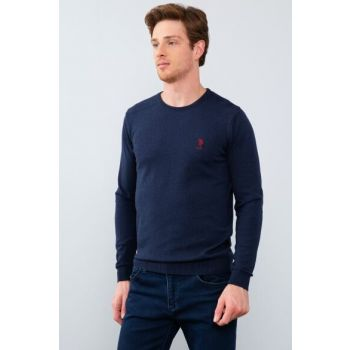 Navy Blue Standard Sweater