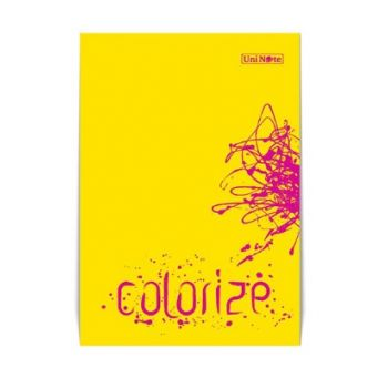 Colorize Notebook A4 100 pages Lined