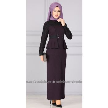 Dress 5262AY342 purple