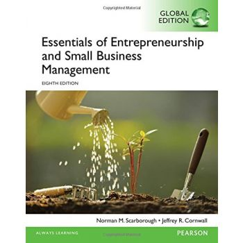 Essentials of Entrepreneurship and Small Business Management (English).  Norman M. Scarborough Jeffrey R. Cornwall