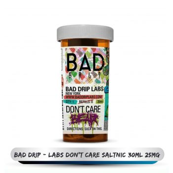 BAD DRIP - LABS DON'T CARE SALTNIC 30ML 25MG