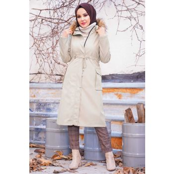 Hooded Polar Fleece Coat