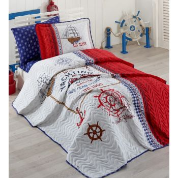 Ranforce Single Bedspread Set Alesta -Rf-Single-Y.Ö-Alesta