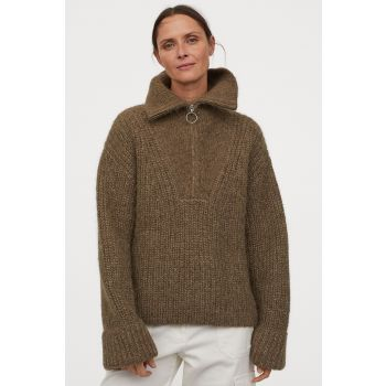 Thick Knitwear Wool Sweater