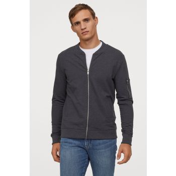 Sweatshirt Cardigan Muscle Fit