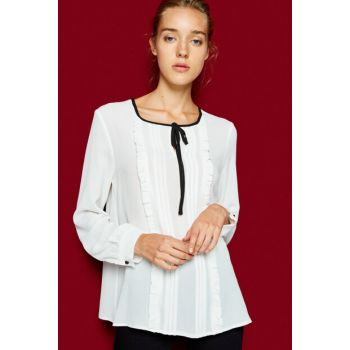 Women's Ecru Blouse 8KAK68738PW