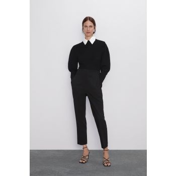 DARTED HIGH WAIST TROUSERS