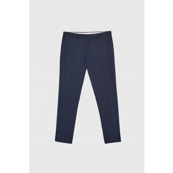 BIRD'S-EYE SUIT TROUSERS