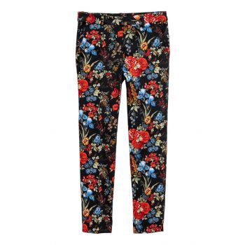 Patterned Sigaret Pants