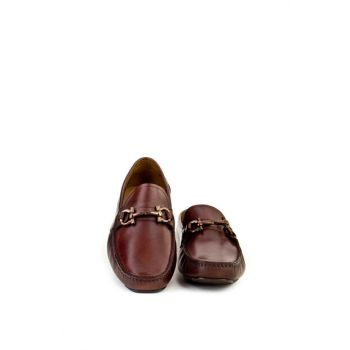 Genuine Leather Coffee Men Shoes 8YEA07AY246H69