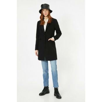 Women's Black Coat 0KAK06558EW