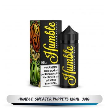 HUMBLE SWEATER PUPPETS 120ML 3MG