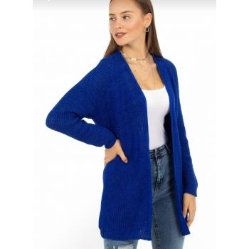 Women's Blue Sweater Cardigan 1044T 1044T