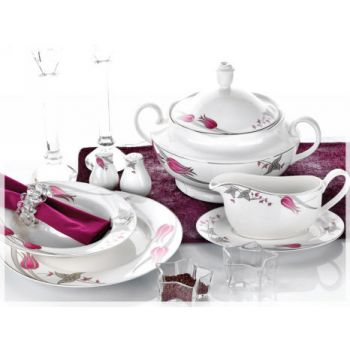 86 Pieces La Luna Dinnerware Set