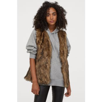 Artificial Fur Vest