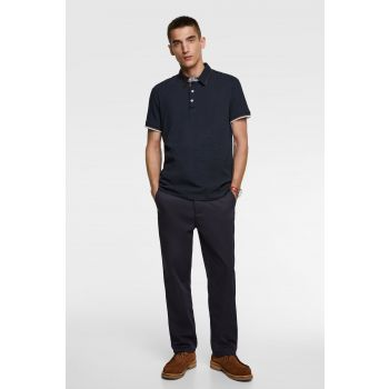 POLO SHIRT WITH CONTRAST TRIM