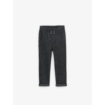 HOUNDSTOOTH SOFT TROUSERS