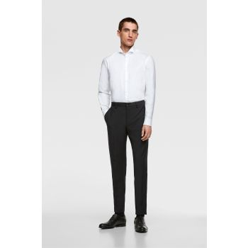 TUXEDO SHIRT WITH FRENCH CUFFS