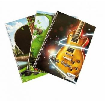 New Style Music Notebook 40 pages