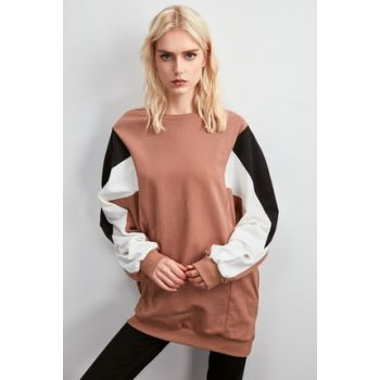 Multi Color Oversize Knitted Sweatshirt TWOAW20SW0773