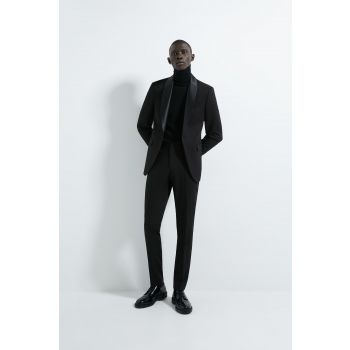 TUXEDO TROUSERS WITH SIDE TAPING
