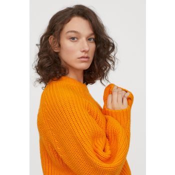 Rubber Knitted Sweater