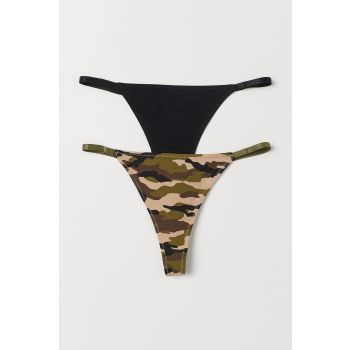 2-Piece Thong Panties