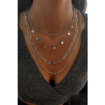 Combined Chain Necklace