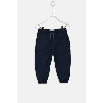 Baby Boy K.Navy Blue Trousers 9W0484Z1