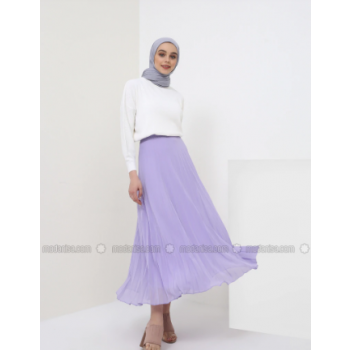 Purple - Lilac - Fully Lined - Skirt