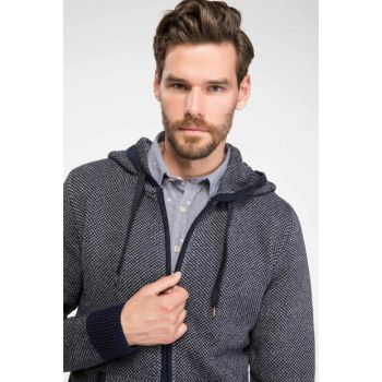 Men's Hooded Cardigan F7735AZ.18AU.NV64