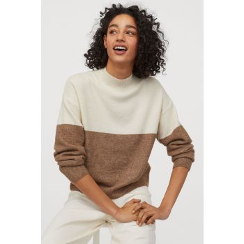 Vertical Neck Sweater