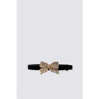 BELT WITH BEJEWELLED BOW