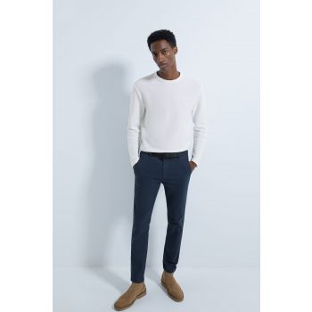 FADED CHINO TROUSERS