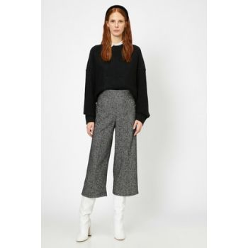 Women Black Trousers 0KAK42883UW