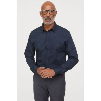 Easy Iron On Shirt Slim Fit