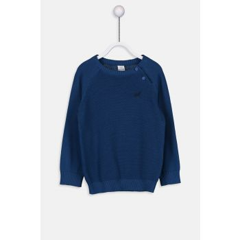 Baby Boy Dark Blue Jc9 Sweater 9W0258Z1