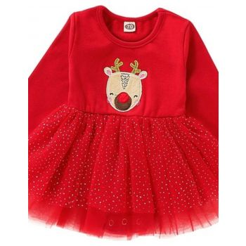 GOB2C GOB2C Baby Girl Embroidered Tutu Dress