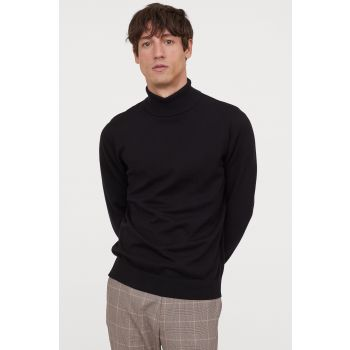 Turtleneck Slim Sweater Pullover