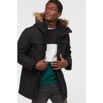 Quilted Lined Parka