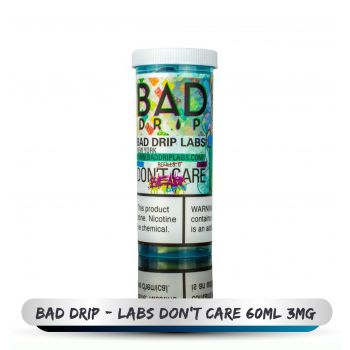 BAD DRIP LABS DON'T CARE 60ML 3MG 1
