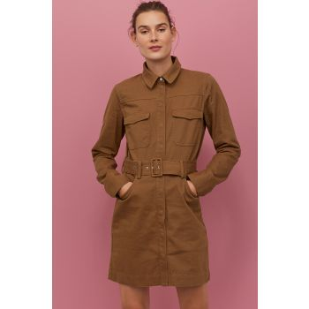 Cotton Utility Dress