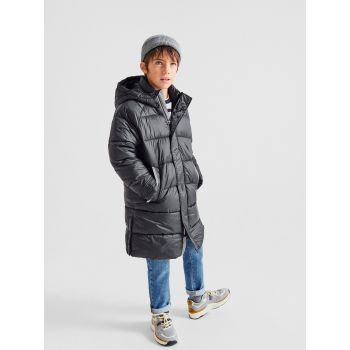 LONG SPORTY DOWN PUFFER JACKET