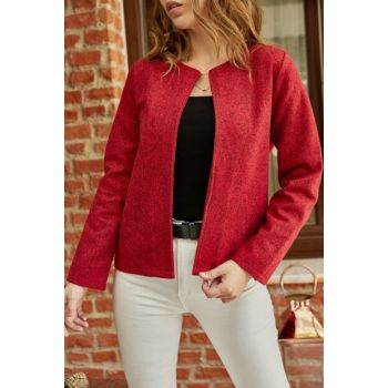 Women's Red Coat 9YXK4-41868-04