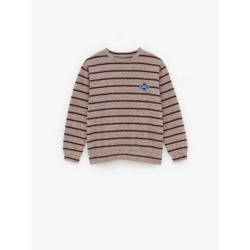 STRIPED SOFT T-SHIRT