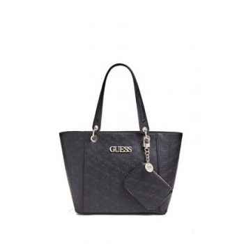 Women's Black Shoulder Bag HWSH6691230