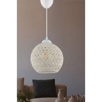 Balle White Pendant Lamp Ball Chandelier DL097 mudu1