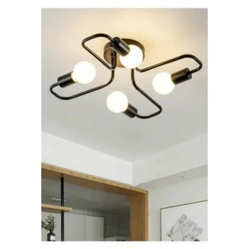Retro Modern New Style Turning 4 '' Chandelier 0104