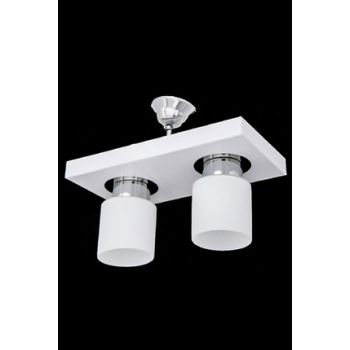 White Modern Sports 2'm Chandelier SNM299